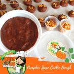 pumpkin spice cookie dough